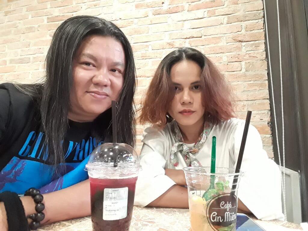 CHỤP HÌNH KỶ NIỆM Ở CAFE AN MIÊN