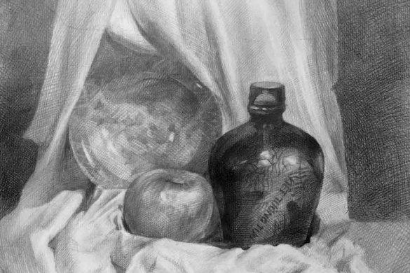 tranh tĩnh vật thiên nữ băng nhi