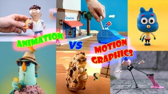 ẢNH BÌA PHÂN BIỆT ANIMATION VÀ MOTION GRAPHICS