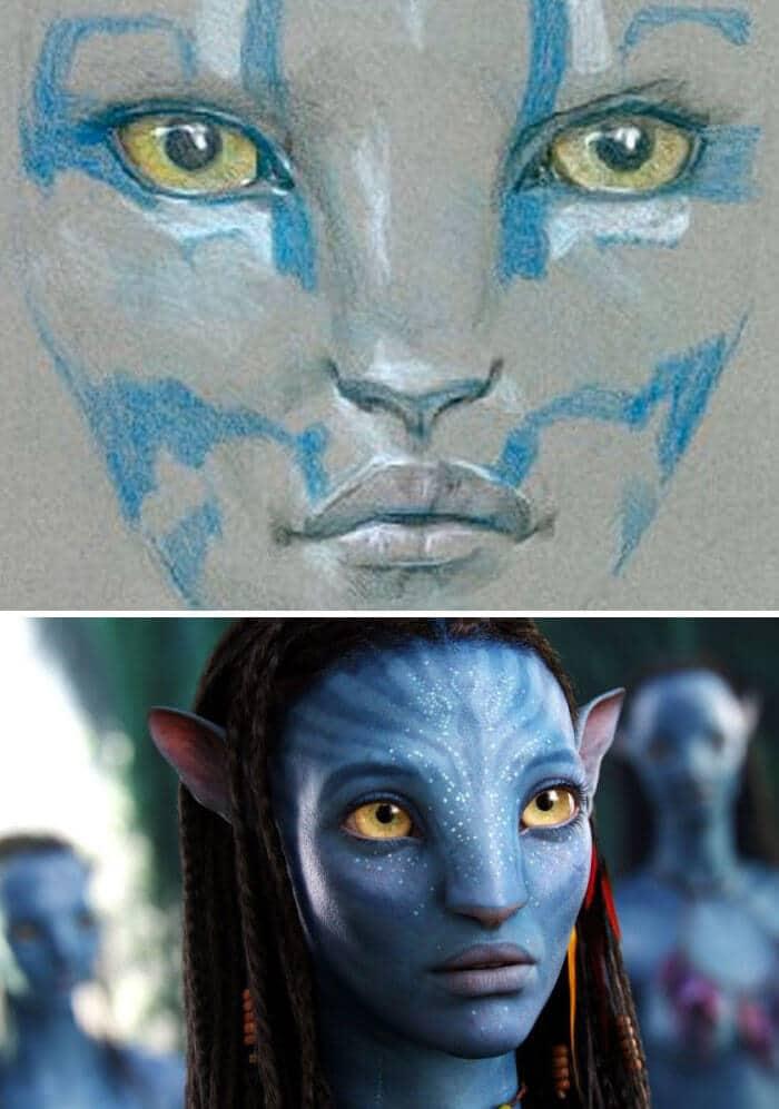 Avatar (2009) - 25 STORYBOARD PHIM NỔI TIẾNG