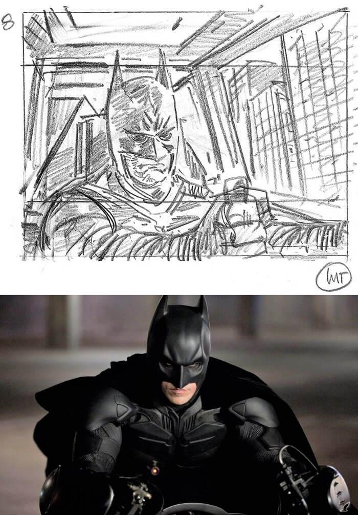 The Dark Knight Rises (2012) - 25 STORYBOARD PHIM NỔI TIẾNG