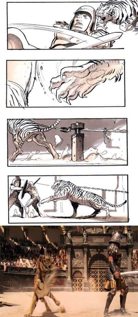 Gladiator (2000) - 25 STORYBOARD PHIM NỔI TIẾNG