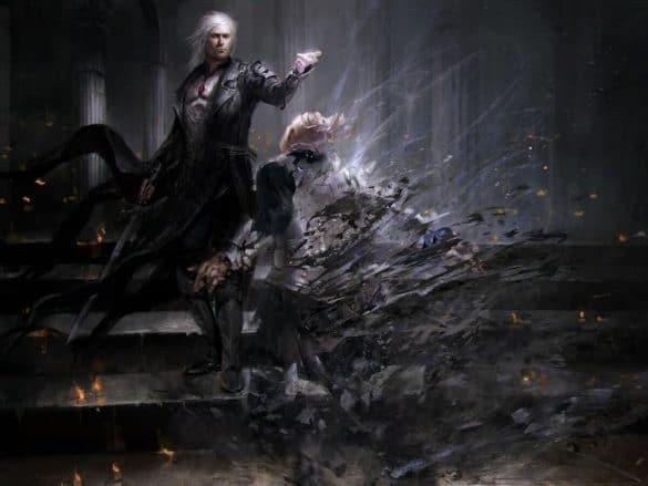 MAGIC THE GATHERING CARD KARLA ORTIZ - THẰNG CON TÔI CÓ TIỀM NĂNG VỀ HỘI HỌA