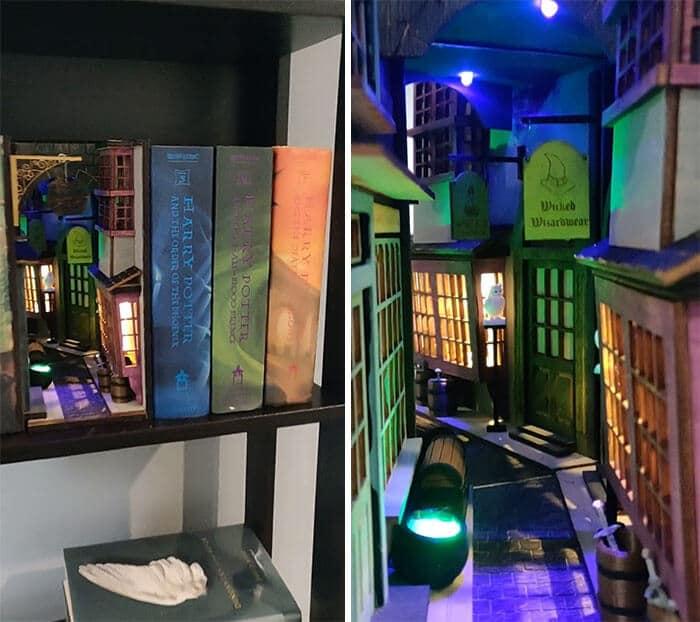 #9 Diagon Alley Booknook