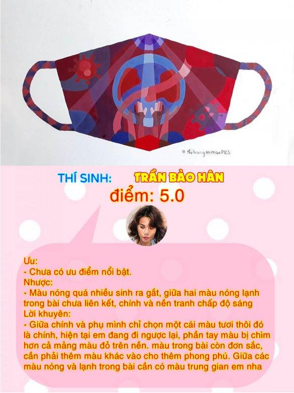 5.0 - TRẦN BẢO HÂN THI THỬ TRANG TRÍ MÀU ONLINE LẦN 3