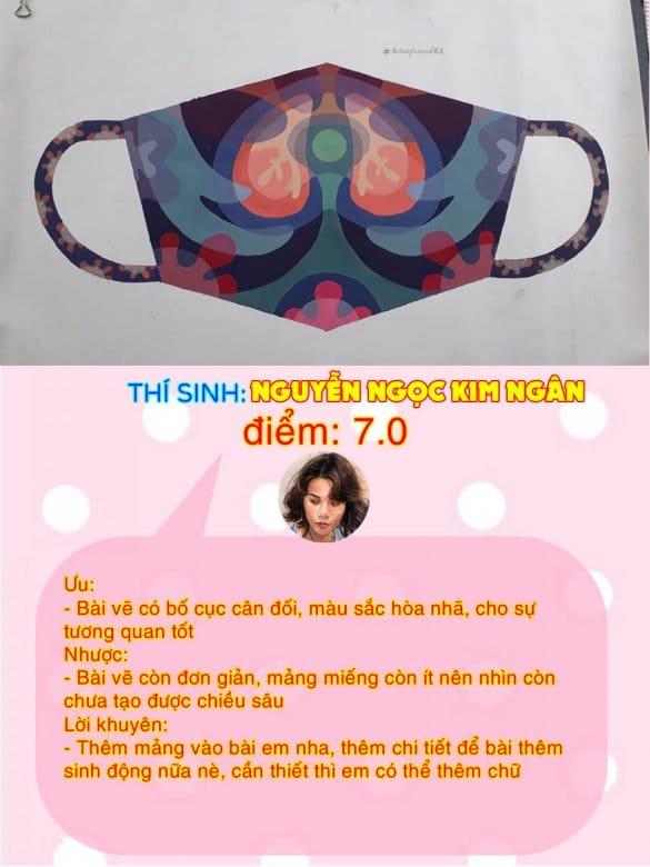 7.0 - NGUYỄN NGỌC KIM NGÂN THI THỬ TRANG TRÍ MÀU ONLINE LẦN 3