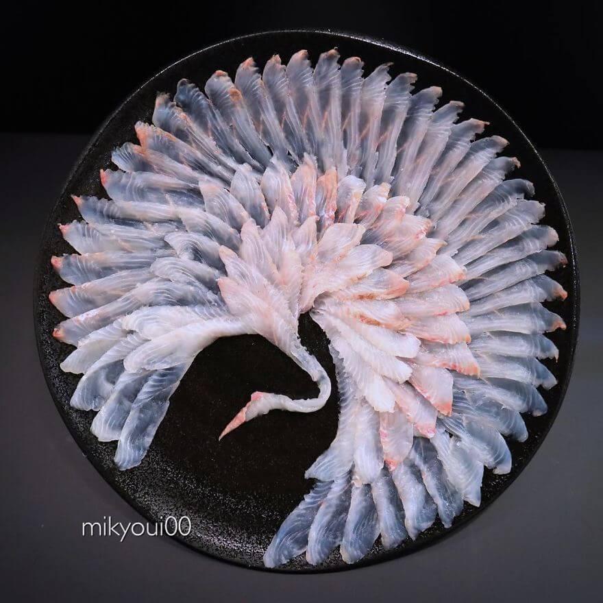 Tsurumori sashimi Ăn Sashimi Sẽ Ngon Hơn Khi Thấy Những Hình Ảnh Này