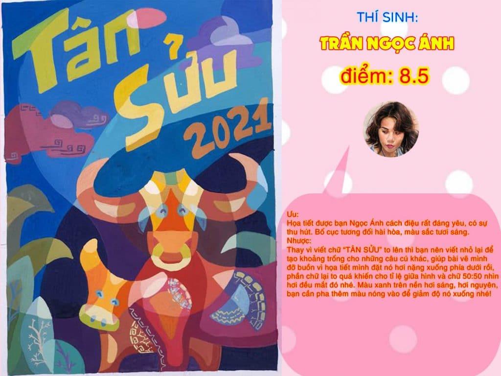 8.5 TRẦN NGỌC ÁNH THI THỬ TRANG TRÍ MÀU ONLINE 2021 PICS STUDIO