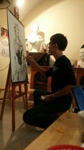 Học vẽ tượng tại PICS Studio.
