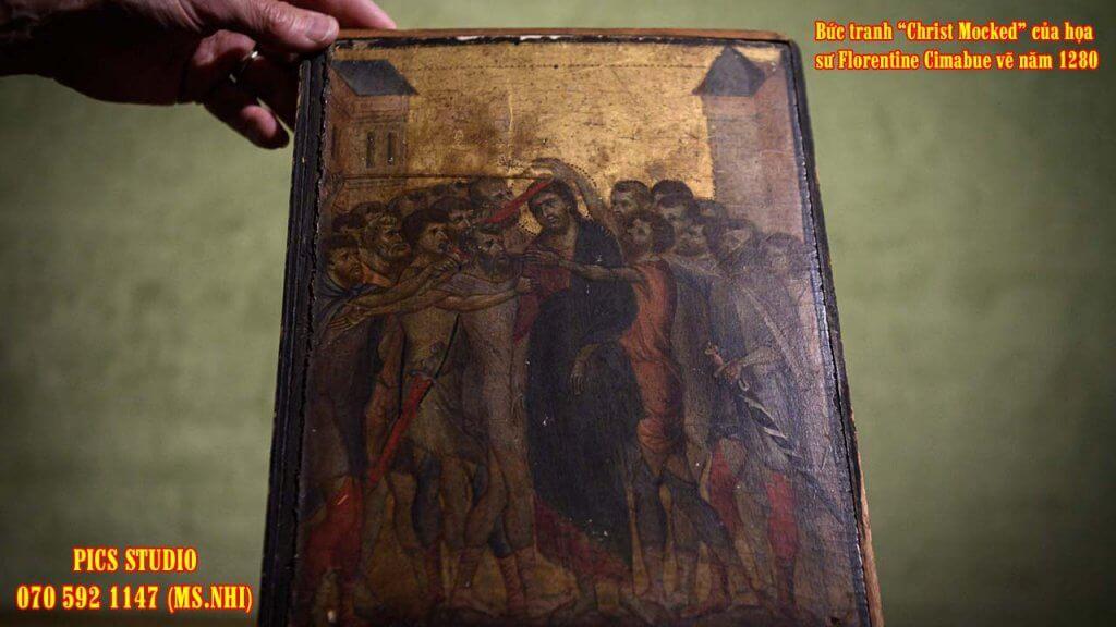 Bức Christ Mocked - Florentine Cimabue