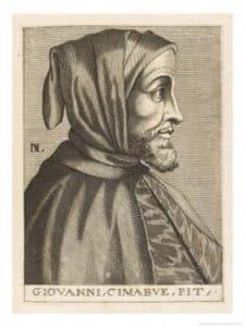 Chân dung họa sư Cimabue