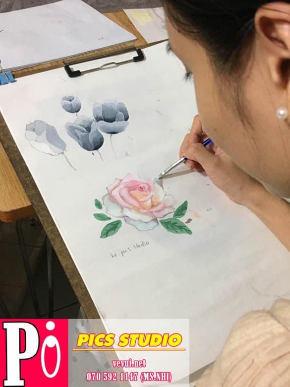 học viên trang trí màu thiên nữ băng nhi (3)