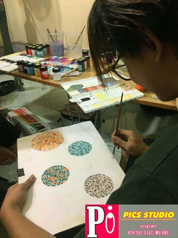 học viên xuân huy trang trí màu thiên nữ băng nhi (2)