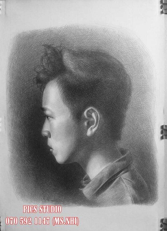tranh chân dung thiên nữ băng nhi (3)