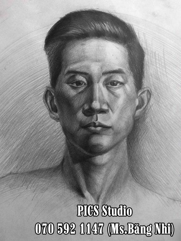 VẼ CHÂN DUNG NAM THANH NIÊN PICS STUDIO (12)