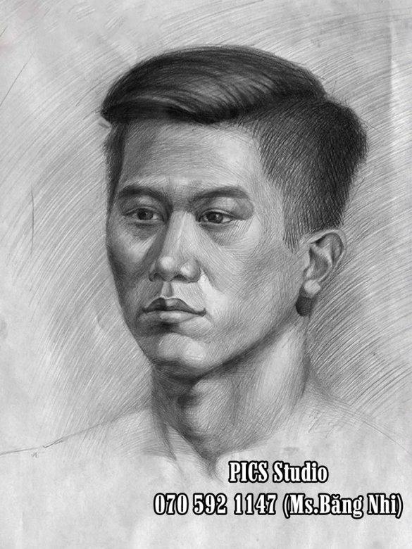 VẼ CHÂN DUNG NAM THANH NIÊN PICS STUDIO (13)