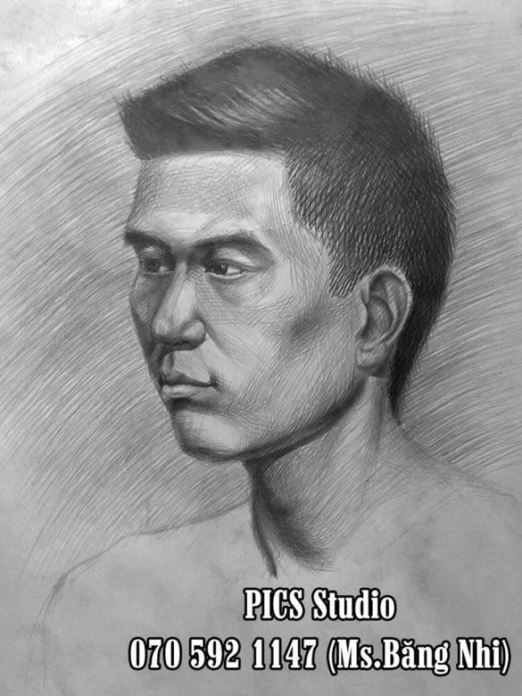 VẼ CHÂN DUNG NAM THANH NIÊN PICS STUDIO (14)