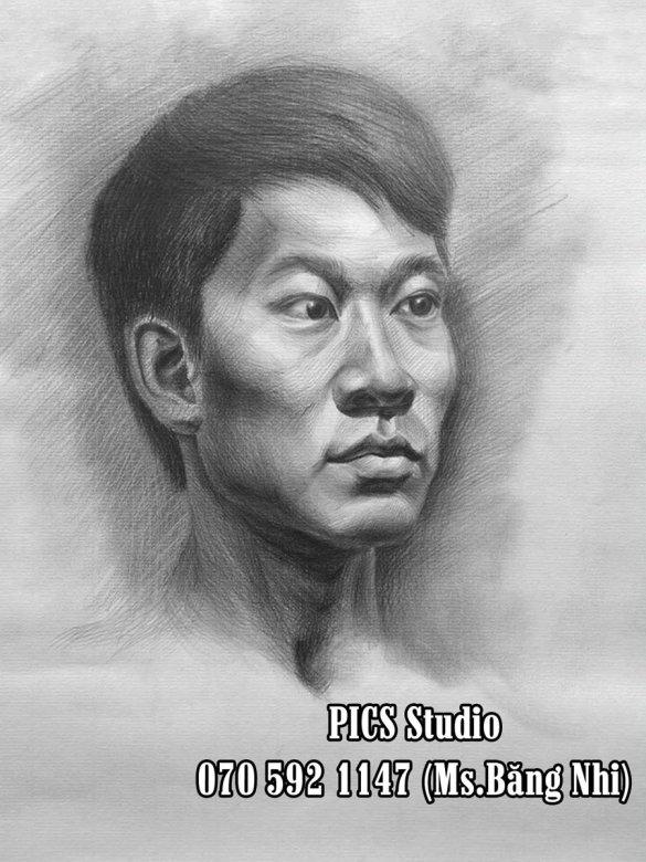 VẼ CHÂN DUNG NAM THANH NIÊN PICS STUDIO (15)