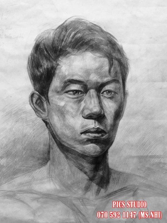 VẼ CHÂN DUNG NAM THANH NIÊN PICS STUDIO (21)