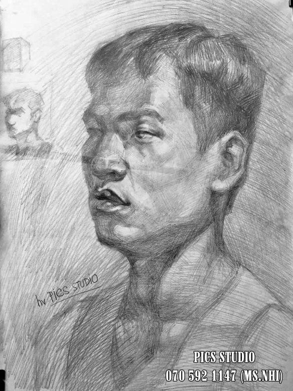 VẼ CHÂN DUNG NAM THANH NIÊN PICS STUDIO (7)