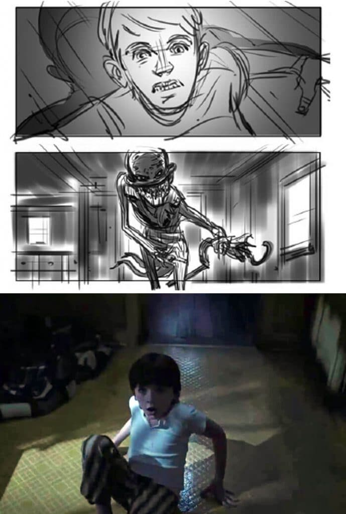 The Conjuring 2 (2016) - 25 STORYBOARD PHIM NỔI TIẾNG
