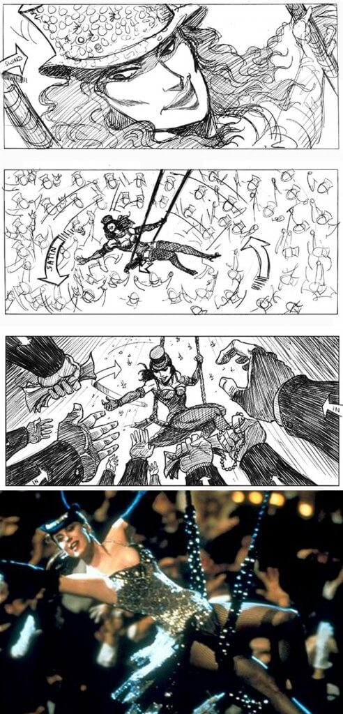 Moulin Rouge (2001) - 25 STORYBOARD PHIM NỔI TIẾNG